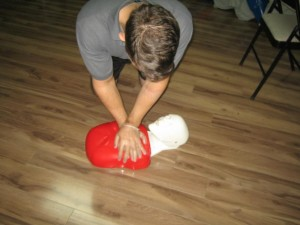 First Aid and CPR Training for Employees