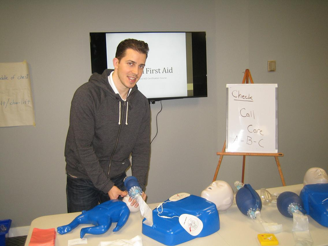 Workplace Approved Cpr C And Aed Courses In Halifax Nova Scotia